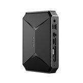 CHUWI Herobox Intel Celeron N4100 8G DDR4 RAM 256G SSD Mini PC 1.1GHz do 2.8GHz 4K gniazdo karty TF aktualizacja SATA 2.4G/5G WiFi BT4.0 HD2.0 Type C