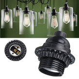 E26 /E27 Retro Vintage Light Socket Keyless Hanging Pendant Light Ceiling Light Holder