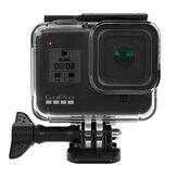 Sheingka 60m vandtæt Soft beskyttelsesskal til GoPro Hero 8 sort undervands Soft Cover til Goprohero 8 Sports Camera