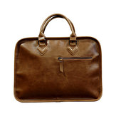 Mannen Bedrijfsrenner Vintage Laptop Solid Leisure Briefcase