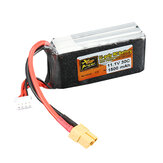ZOP Power 11.1V 1500mAh 3S 30C Lipo Battery XT60 Plug