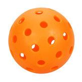 6 piezas de 40 agujeros de alta visibilidad óptica Patrón bolas Pickleball para juguetes de entrenamiento de práctica de juego