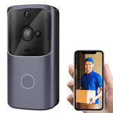 Drahtlose WiFi Smartphone Remote Video Kamera Türklingel 2-Wege-Audio Home Security