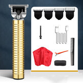 USBプロフェッショナル男性電気バリカントリマーヘアカットマシン理髪ツールセット