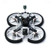 HOMFPV Cine Wingsuit S 100mm 2,5 Inch 4S HD Vista Version Whoop FPV Racing Drone BNF F405 Flight Controller 25A 4IN1 Blheli_S ESC m / Caddx Nebula NANO Cam