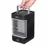 110V Mini USB-luchtkoeler ABS Draagbare ventilator met indicator Suppot Batterijvoeding Zomer Koelventilator Airconditionerventilator