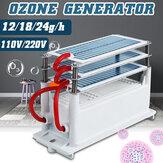 AC 110V / 220V 12g / 18g / 24gオゾン発生器オゾン発生器機械水空気清浄器