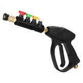 Universal Car High Pressure Power Washer Trigger 300 bar/3000PSI With 5 Color Nozzles Tips Cleaning