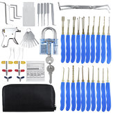 56Pcs Training Unlock Tool Skill Set 30Pcs Unlocking Lock Pick Set Key Extrator