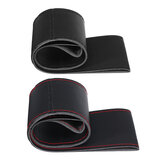 Car Auto Steering Wheel Non-Slip Protection Covers PU Leather 45cm for RV Truck