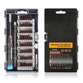 60 em 1 kit de ferramentas de reparo profissional multifuncional chave de fenda set kit chave de fenda de precisão