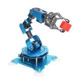 Hiwonder xArm 1S 5 DOF-grijper Metaal RC Robotarm Programmeerbare stick / APP-bediening met servo's