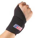 ShuoXin SX502 Monolithic Spors Gym Elastic Stretchy Wrist Guard Protector - 1PC