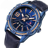 NAVIFORCE 9117 Business Style Kalender mænd armbåndsur