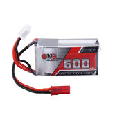 Gaoneng GNB 7.4V 600mAh 35C 2S Lipo Battery JST Plug for FPV RC Drone