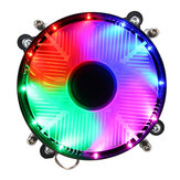 12V تيار منتظم 3Pin معالج Cooling Fan معالج Cooler Coloful LED for انتل LGA 1150/1151/1155/1156/1366