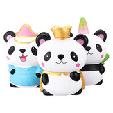 Panda Squishy Kawaii Animal Family Slow Rising Rebound Jumbo 24cm Toys Gift Decor