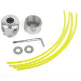 Aluminium Strimmer Head Trimmer Head String für Universal-Rasenmäher Cutter