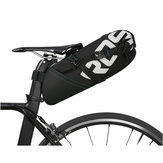 BIKIGHT8l/10lضدللماء Nylon الدراجات دراجة السرج مقعد حقيبة دراجة saddlebags مقعد عاكس حزمة الحقيبة