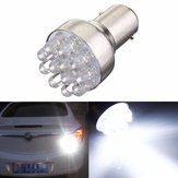 1Pcs 0.8W 1157 BAY15D 12 LED Car Brake Turn Stop Tail Lights Lamp Bulb DC 12V White