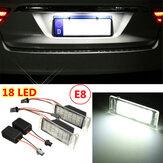 2x Fehler frei 18 LED SMD Anzahl Kfz Kennzeichen Licht Lampe für Chevy Camaro Cruze