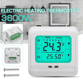 LYK-109 3600W Riscaldamento elettrico a pavimento Termostato per riscaldamento elettrico AC 230V