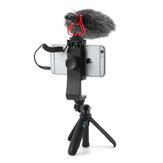 LEDISTAR MD-1 Microphone 76dB SPL 35-18kHz+/-3dB for DSLR Camera Smartphone Vlog Broadcast Video Record Accessories