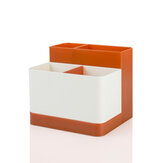 NC Stationery Storage Box Detachable Stationery Storage Box Desktop Office Organizer Stationery Storage Living Room Dormitory Small Pieces Storage
