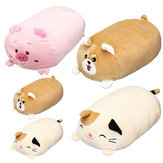 30/60cm Chubby Cute Soft Animal Cartoon Cushion Stuffed Plush Toy Stuffed Puppy Kitty Pillow