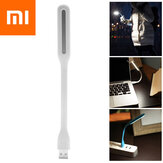 XIAOMI Mijia Mini Mobile USB LED Licht 5 Modi Einstellbare Schwanenhals-Leselampe Helligkeit Power Bank Laptop-Licht