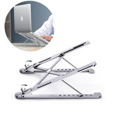 Supporto per pad rack portatile pieghevole Stand Holder per laptop con staffa per tablet in lega di alluminio