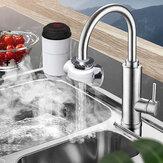 3000W 220V Eléctrico Instantáneo Calentador Grifo Grifo LED Pantalla Agua Caliente Cocina