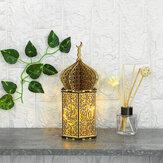 DIY LED Фонарь Night Light Лампа Ислам Батарея Приведенный в действие Украшение Висок Ид Мубарак Рамадан