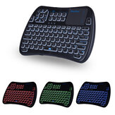 iPazz Port KP-810-61BT Three Color Backlit bluetooth English Wireless Mini Keyboard Touchpad Airmouse Air Mouse