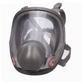 再使用可能な6800フルフェイス防毒マスクスプレー塗装マスクシリコンフェイスピース