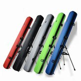125cm Removable Fishing Rod Tackle Hard ABS Case Bag Carry Holder Luggage Organzier Box