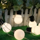 Halloween Licht Gartenarbeit 5M 20 LED String Light Blub Form Urlaub Garten Party Hochzeitsdekoration