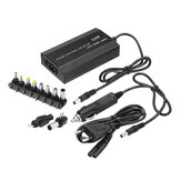 Excellway 120W 12-24V Adjustable Power Supply Adapter AC/DC Power Adapter 5V USB Port