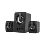 Langjing A3 bluebooth5.0 Computer Speaker Surround Sound Powerful Bass USB Plug Button Adjustment Wired Widely Compatible Equipment Black