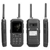 JEASUNG X6 IP68 2,4 Zoll 2500 mAh UHF Walkie Talkie Taschenlampe Bluetooth Dual SIM Wasserdichte Funktion Telefon
