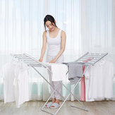 230W Portable Foldable Electric Cloth Dryer Drying Rack Thermostatic Clothes Drying Rack Household Aluminum Alloy Rack