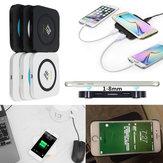 Winksoar QI Wireless Charger Ładowarka Pad dla iPhone Samsung Uwaga 5 Nokia