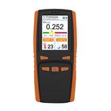 Portable Ozone Analyzer Multifunctional O3 Ozone Meter Air Detector Intelligent Sensor Ozone Meter Air Quality Pollution Monitor