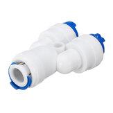 1/4 inch RO Grade Y-type waterbuis snelkoppelen onderdelen koppelingen verbindingspijpen voor waterfilters