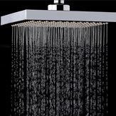 KCASA KC-SH604 Top Spray Thickened Pressurized Rotatable Rainfall Shower Head Square Stainless Steel Top Spray Head