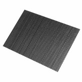 200x300x(0.5-5)mm 3K Black Twill Weave Carbon Fiber Plate Sheet Glossy Carbon Fiber Board Panel High Composite RC Material