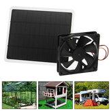 Ventilador de resfriamento de painel solar USB 50 W Ventilador de exaustão solar de 6 polegadas mini para Cachorro com estufa de galinheiro RV