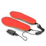 3.7V 1200mAh Calentador Eléctrico Calzado Plantillas Foot Warmer Calentador Pies Batería Warm calcetines Ski Boot