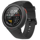 Version internationale d'origine Amazfit Verge AMOLED IP68 Bluetooth appelant la montre intelligente GPS + GLONASS