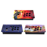 DIY Handvat Arcade Joystick Game Controller Acryl Panel Case Vervanging